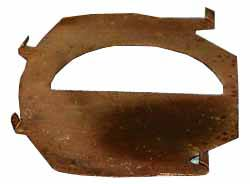 Brake Pad Shim Rear Right Hand Outer - Left Hand Inner