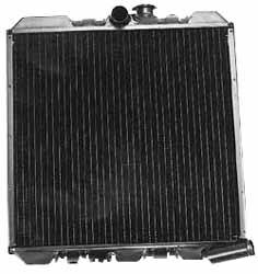 Radiator Assembly, 2.25-Liter 4-Row, For Land Rover Series 2, 2A And 3