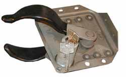 Door Latch - Lock With Key - Right Hand