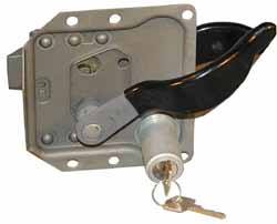 Door Latch - Lock With Key - Left Hand