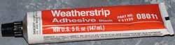 weatherstrip adhesive
