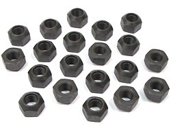 20 black lug nuts for Land Rover