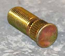 Wheel Stud - Serrated Metric