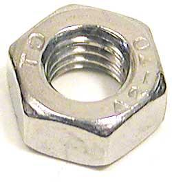 Nut Hex M6 X 1.0 Stainless