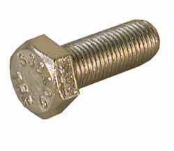 3/8-24 X 1 Hex Cap Bolt, Stainless Steel - 77331