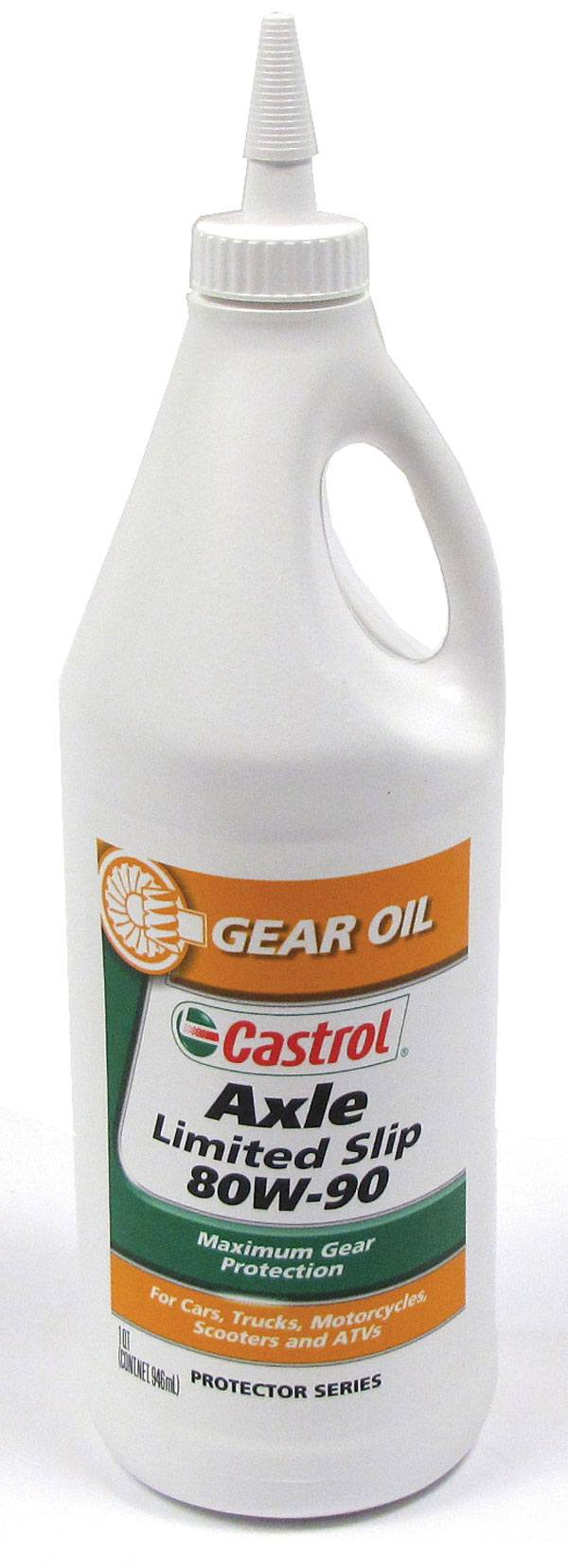 Castrol Axle Limited Slip 80W-90 Differential Axle Gear And Transfer Case Oil