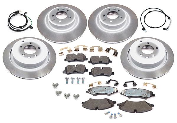 brake kit - rotors, pads, sensors