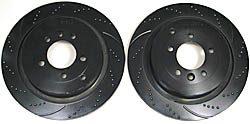 EBC rear brake rotors - 8856EBC