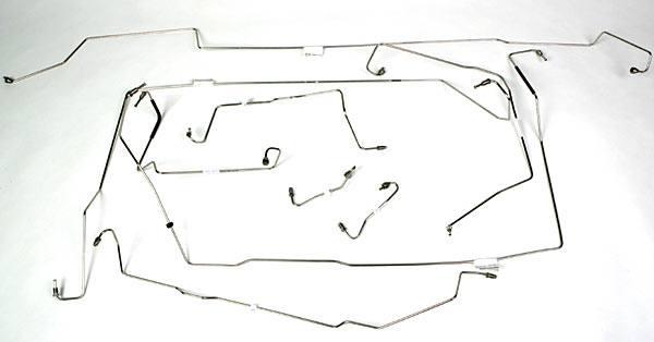 Stainless Steel Brake Line Kit For Land Rover Defender 90 (1994 - 1995)