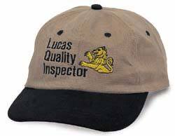Lucas Quality Inspector Baseball Cap