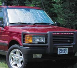 Custom-Fit Windshield Sun Shade For Range Rover P38 By Intro-Tech Automotive