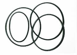 Belt Replacement Kit For Range Rover Classic 1987 - 1992, Includes Alternator Belt, Steering Pump Belt And 2 AC And Water Pump Belts