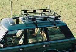 Safari Style Roof Rack By Surco, 50 Inch X 50 Inch, For Land Rover Discovery 1, Discovery Series 2 And Range Rover Classic