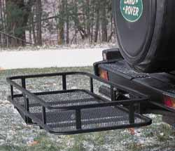 Cargo Hitch Rack, Basket Style, Fits 2-Inch Or 1-1/4-Inch Receivers With Included Extension