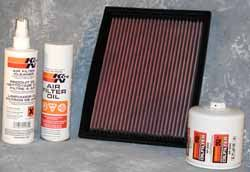 Land Rover Discover air filter kit