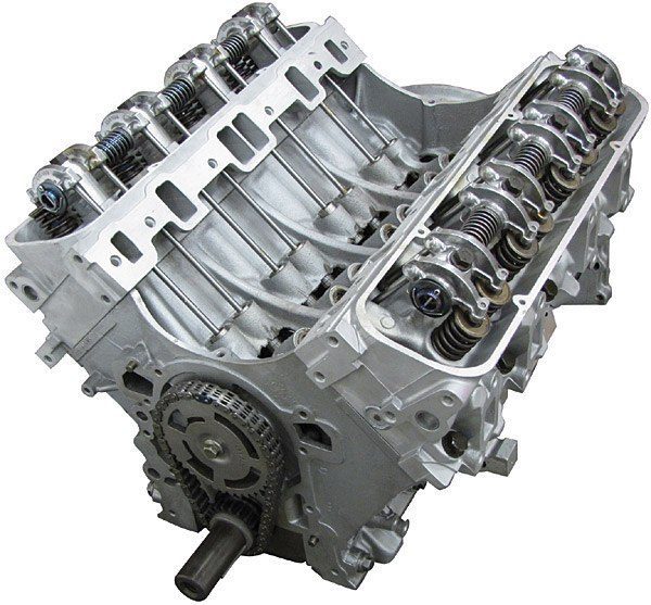 Land Rover long block engine