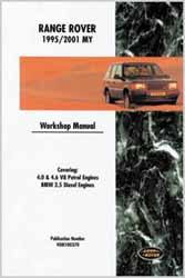 Range Rover 4.0 4.6 Bentley repair manual