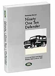 Ninety One Ten Defender Workshop Manual