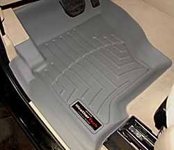 Floorliner Molded Mats By WeatherTech, Front Pair, Grey, For Land Rover LR3 And Range Rover Sport 2005 - 2008
