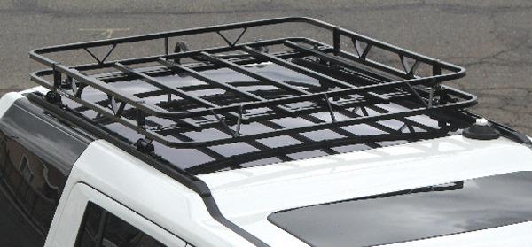 roof rack installed on LR3