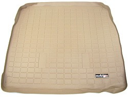 Cargo Mat / Loadspace Liner, Tan, Half Size Length By WeatherTech, For Land Rover Discovery Series 2