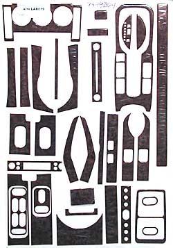 Dash Kit - Burlwood 2004