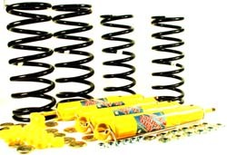 Shock And Spring Suspension Kit, Heavy Duty Front And Rear Nitrocharger Sport From Old Man Emu / ARB, For Land Rover Defender 110