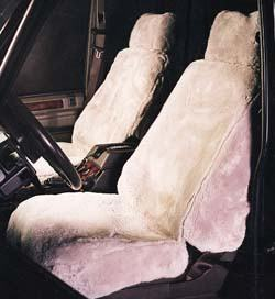 Sheepskin Seat Covers (Beige) - 2002 Only