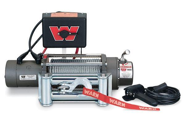 Warn Winch M8000: Fits ARB Bull Bar Bumpers (8,000 Lb. Capacity)