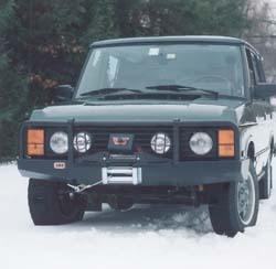 ARB Bull Bar & Winch Bumper - Not Airbag-Compatible
