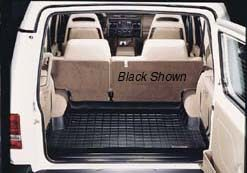 Cargo Mat / Loadspace Liner, Grey, Half Size Length By WeatherTech, For Land Rover Discovery Series 2