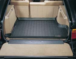 Cargo Liner Loadspace Rubber Mat By WeatherTech, Black, For Range Rover P38