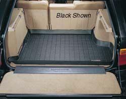 Cargo Liner Loadspace Rubber Mat By WeatherTech, Gray, For Range Rover P38