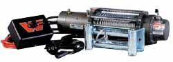 Warn Winch XD9000: Fits ARB Bull Bar Bumpers (9,000 Lb. Capacity)