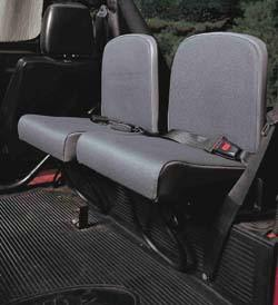 Trakker rear jump seats