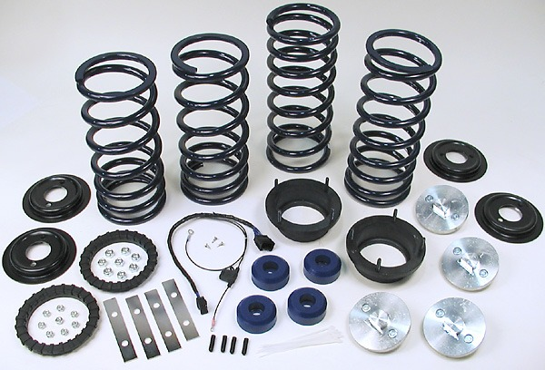 Range Rover heavy duty air suspension conversion kit
