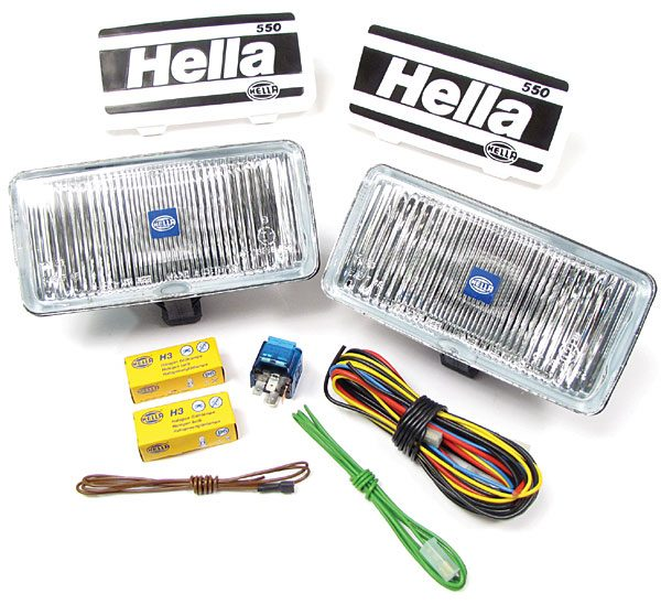 Hella fog light kit