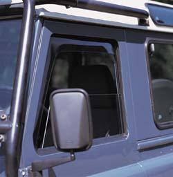 Air Deflectors, Side Window, Front Pair By WeatherTech, For Land Rover Defender 90