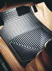 Weathertech® Classic Premium Rubber Floor Mats - Front Set - Black