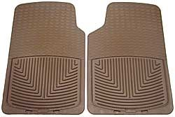 WeatherTech Classic Premium Rubber Floor Mats, Front Pair Set, Tan, For Land Rover Discovery 1, Discovery Series 2, Range Rover P38 And Range Rover Classic