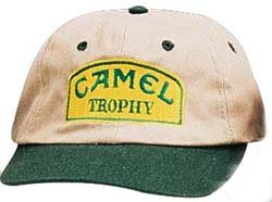 Camel Trophy hat