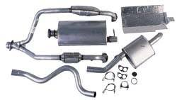 Complete Exhaust Kit For Range Rover Classic, Short Wheel Base, 1990 - 1995