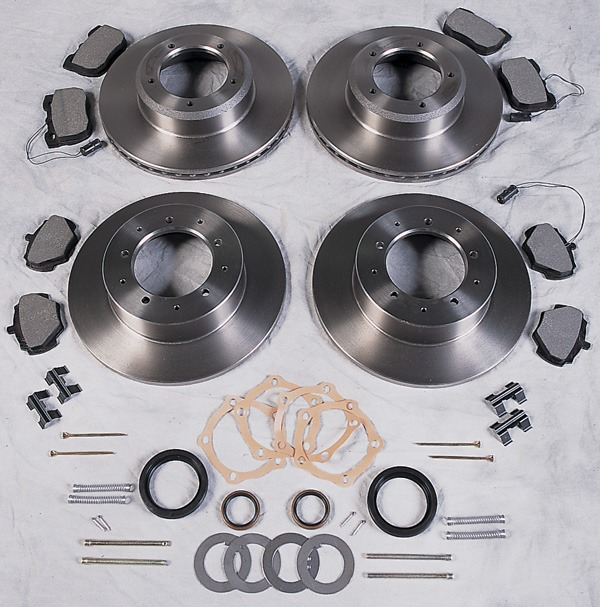 Atlantic British brake rebuild kit for Range Rover Classic