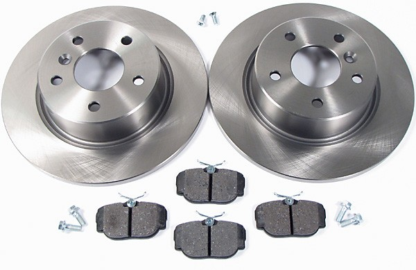 Discovery Series II brake pads and rotors