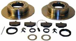 Brake Rebuild Kit - Rear