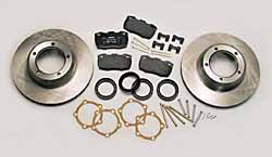 Ferodo brake pads, rotors and hardware