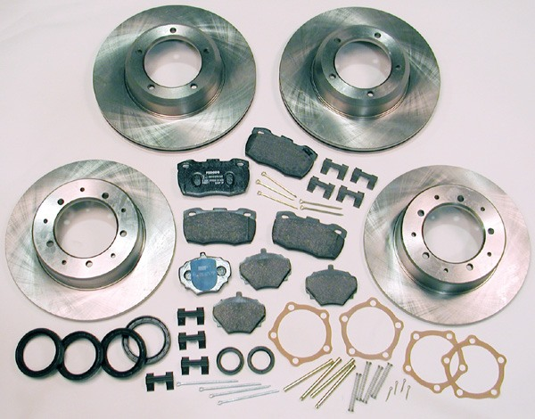 Defender 90 brake rebuild kit
