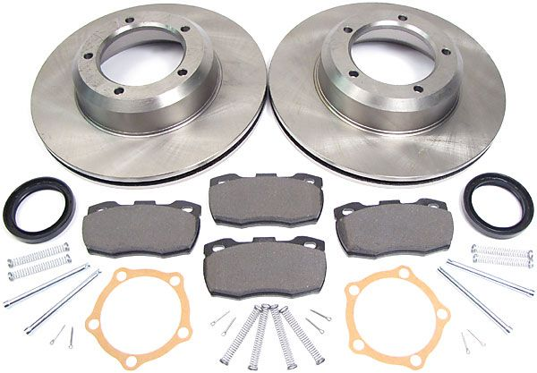 brake pads, rotors and hardware