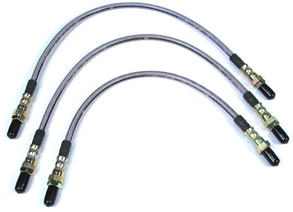 Defender brake lines