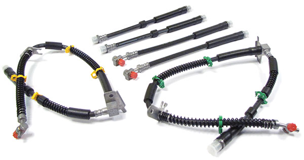 Brake Hose Kit With Standard Rubber Hoses For Range Rover Sport And Range Rover Sport Supercharged (2006 - 2009)
